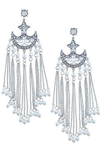 Mini Glass Square Earrings - 5
