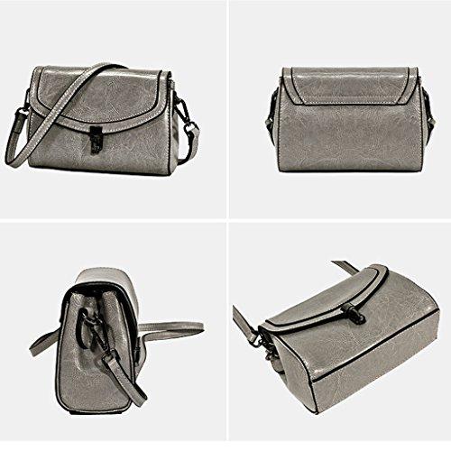 féminin petit Sac sac coréen Messenger sac Lxf20 mini petit PU bandoulière Brown à Sac à carré sac bandoulière fSA5w4q