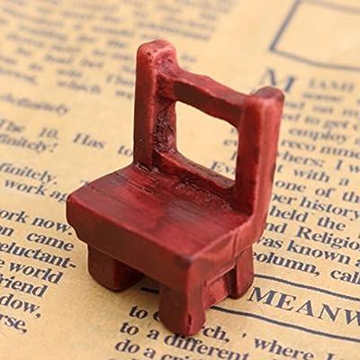 Primi miniature Dollhouse Fair Mobilier de jardin Chaises miniature ...