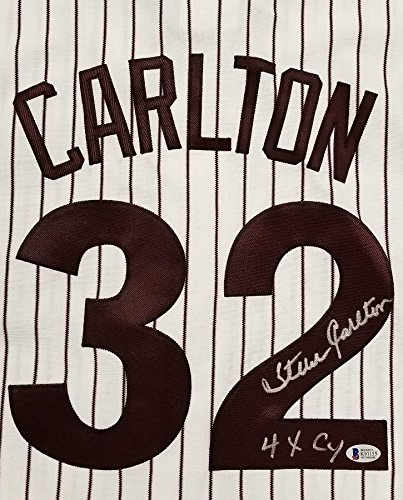 STEVE CARLTON Autograph Signed