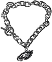Siskiyou Sports NFL Philadelphia Eagles Charm Chain Bracelets, 7.5-Inch