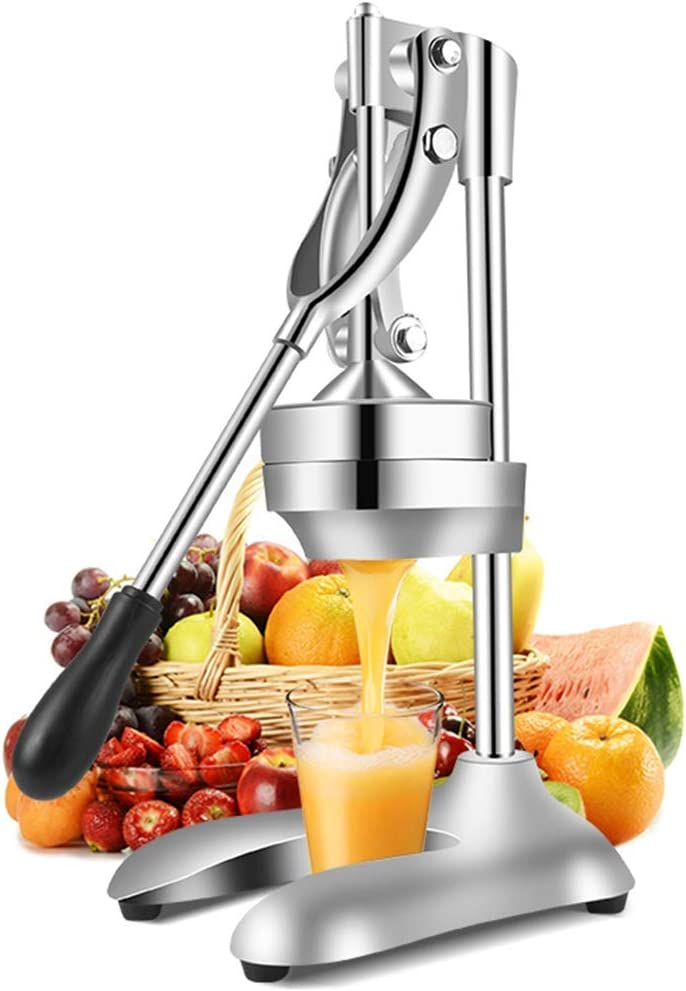 Moongiantgo Commercial Manual Juicer Hand Press Citrus Juicer Extractor Pomegranate Orange Lime Lemon Squeezer Fruit Juicer Machine