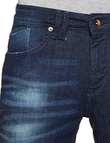 Flying Machine Men Blue Jeans 2021 June Care Instructions: Machine Wash Fit Type: Slim Mid-Rise Waist