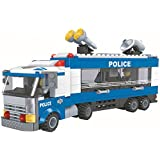 Smarttoy Environmental ABS Material Children 325 Pieces DIY Police Truck 3D Puzzle Toys