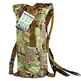 OCSOSO Camouflage Style Hydration System Water Bag Pouch Backpack Bladder Hiking Climbing Survival 3L