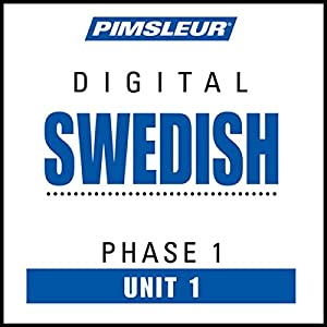 Swedish Phase 1, Unit 01 Hörbuch