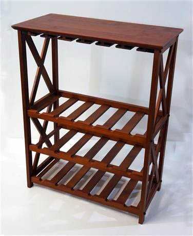 Furniture Montego X Wine Rack (Montego Wine Rack compare prices)