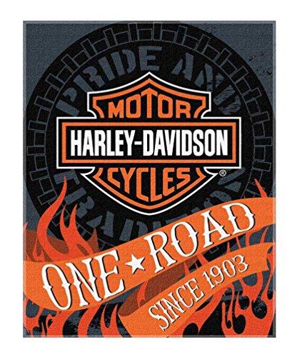 Harley-Davidson Flares Bar & Shield Large Beach Towel, 54 x 68 inch, NW079960