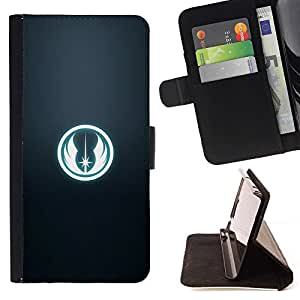 For Samsung Galaxy S4 IV I9500 Star Wars Faction Sign Beautiful Print Wallet Leather Case Cover With Credit Card Slots And Stand Function
