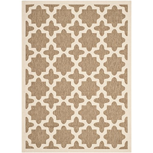 12x12 Bone (Safavieh Courtyard Collection CY6913-242 Brown and Bone Indoor/ Outdoor Area Rug (9' x 12'))