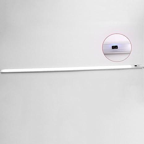 yunt LED cocina armario lámpara iluminación con detector de movimiento y sensor de luz para lámparas