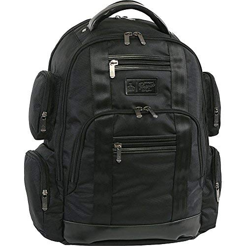 (ORIGINAL PENGUIN Peterson Backpack Fits Most 15-inch Laptop and Notebook, Black, One Size)