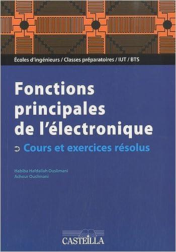 Amazon Fr Electronique Analogique Fonctions Principales