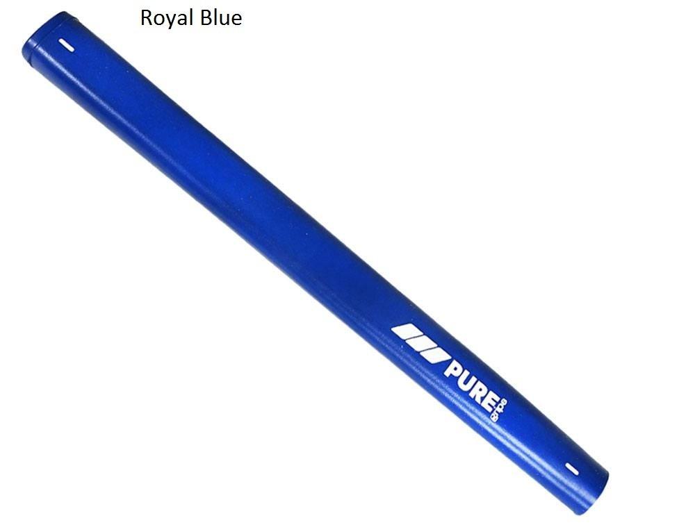 Pure golf- PureクラシックMidsizeパターグリップ B06XX14W2W ブルー