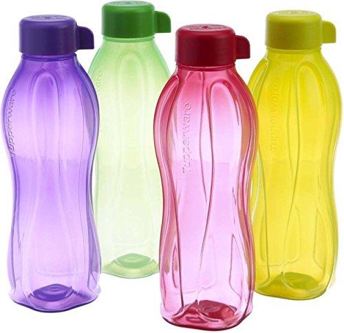 Nilaish 1000 ml Water Bottle Set Pack of 4, Multicolor