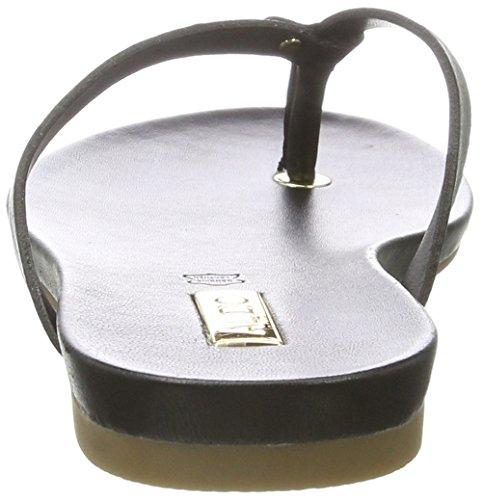 Black Sandales 97 Tricia Leather Ouvert Noir Bout Femme ALDO v10OTxwq