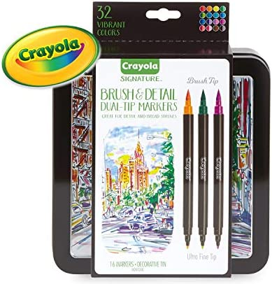 Crayola Markers Dual Tip Marker 16Count product image
