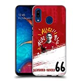 Official Liverpool Football Club Trent Alexander-Arnold 2018/19 First Team Group 1 Hard Back Case Compatible for Samsung Galaxy A20 / A30 (2019)