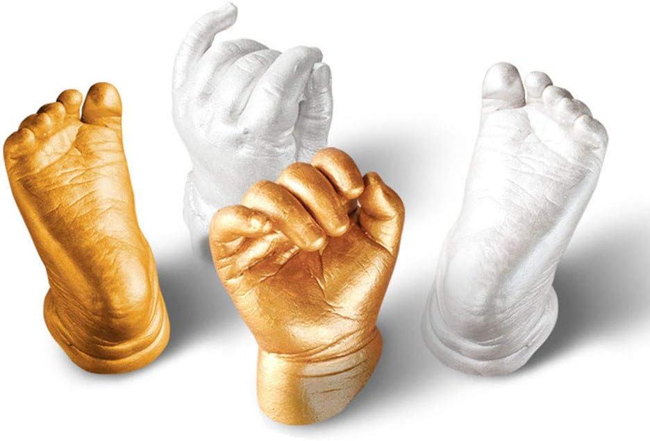Baby Handprint Footprint Mould 3D Plaster Molds Adult Child Hand/&Foot Casting Prints Kit Cast Gift Ideas