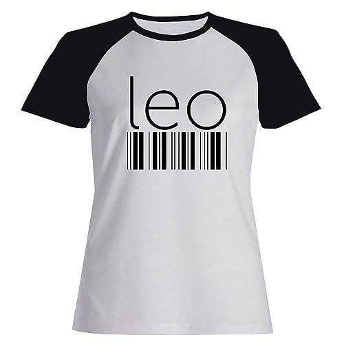 Idakoos Leo barcode - Zodiachi - Maglietta Raglan Donna
