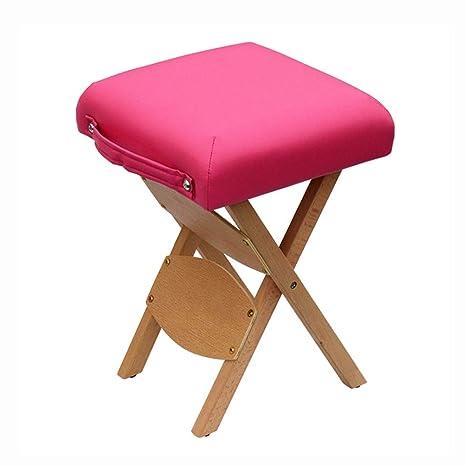 Excellent Amazon Com Zayjd Xrxy Stool Solid Wood Portable Folding Inzonedesignstudio Interior Chair Design Inzonedesignstudiocom