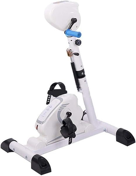 XCHUNA Pedal de la Bicicleta eléctrica Trainer, Plegable Rehabilitación Equipo de la Aptitud, Stroke hemipléjica Brazo del Entrenamiento y de la Rodilla Trainer: Amazon.es: Deportes y aire libre