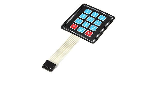 ILS - 4 x 3 Matrix 12 Array interruptor clave teclado ...