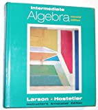 Intermediate Algebra, Larson, Roland E. and Hostetler, Robert P., 0669396168