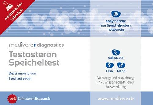 Testosteron Speicheltest