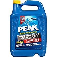 PEAK PRAB53-6PK Long Life Antifreeze, 128. Fluid_Ounces, 6 Pack