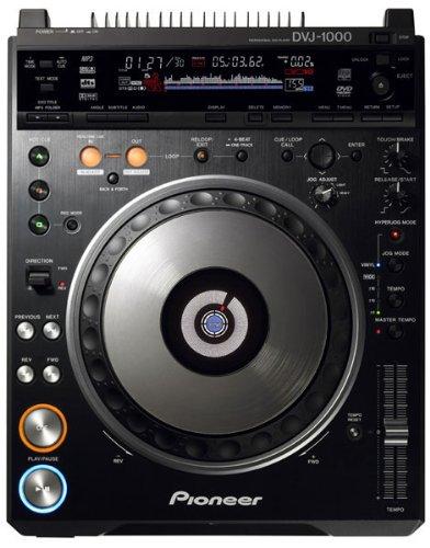 (PIONEER DVJ-1000 Professional DVD/CD/MP3 Turntable)