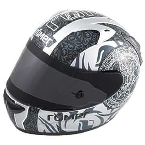 Römer Mandala Casco Integral de Motocicleta, Negro/Gris, L