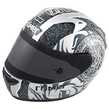 Amazon.es: Römer Mandala Casco Integral de Motocicleta, Negro/Gris, L