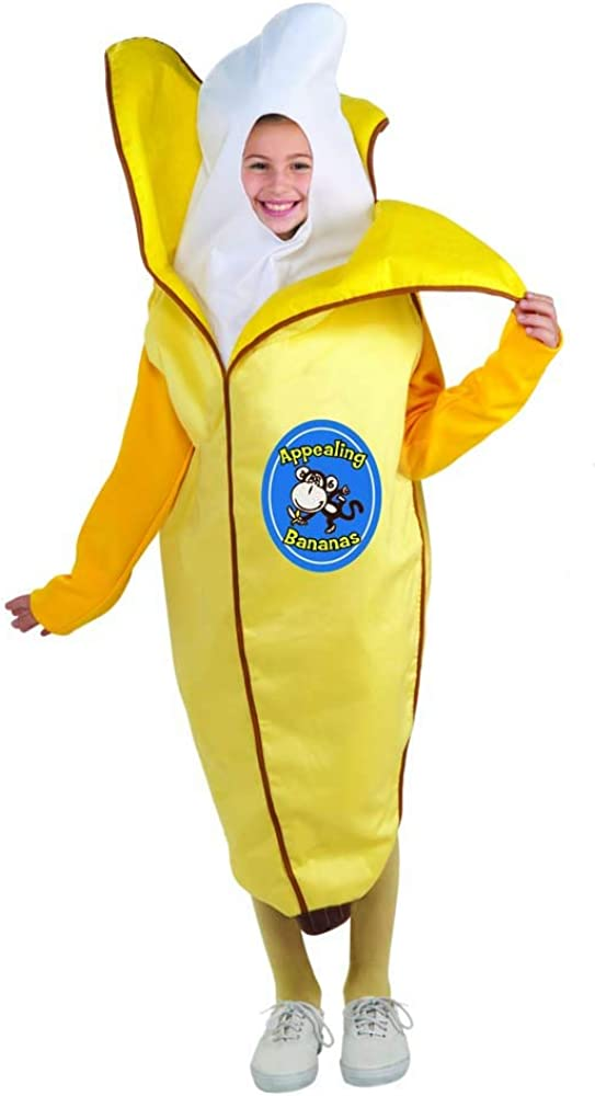 Forum Novelties Child's Fruits and Veggies Collection Appealing Banana Costume