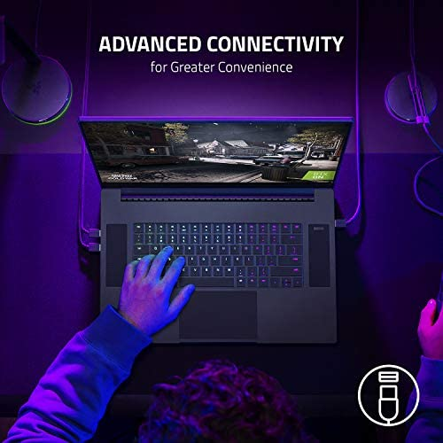 "Razer Blade Pro 17 Gaming Laptop 2021: Intel Core i7-10875H 8-Core, NVIDIA GeForce RTX 3080, 17.3"" 4K 120Hz, 32GB RAM, 1TB SSD - Chroma RGB - Thunderbolt 3 - SD Card Reader"
