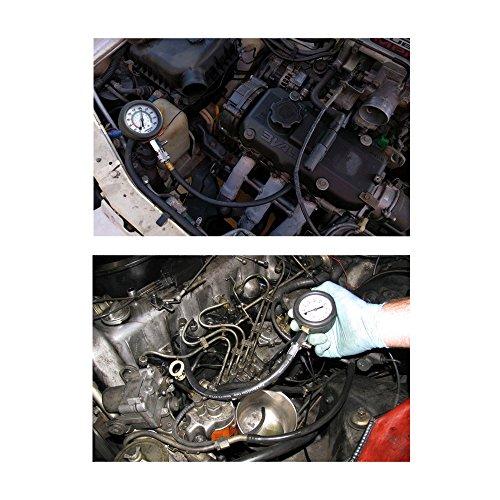 Jecr Cylinder Pressure Tester - 0~300 Psi Cylinder Pressure Tester G324 - Gasoline Engine Compression Gauge Kit for Cars, SUVs, RVs, Bikes and ATV, by by Jecr (Image #1)