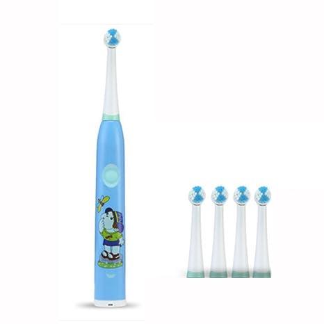 NAN Cepillo de dientes eléctrico para niños Recargable 3-612 años de edad piel suave