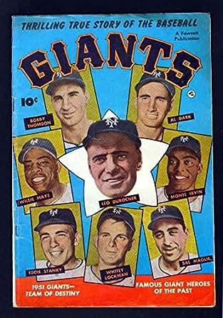 Amazon.com: GIANTS 1 5.0 VGF 1952 FAWCETT NEW YORK WILLIE