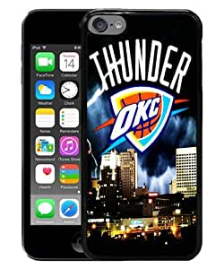 iPod Touch 6 Case ,okc thunder Black iPod Touch 6 Cover Unqiue And Durable Custom Designed Phone Case