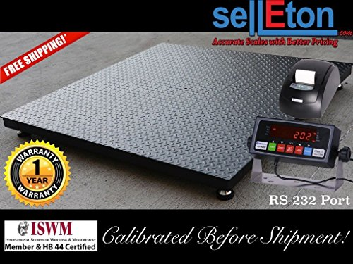 Selleton Floor Scale / Pallet Size 48