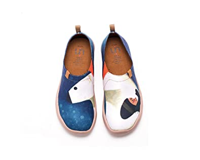 UIN Chat charmant Chaussures bateau de toiles casual multicolore pour femme (39) TPMzQhszNA