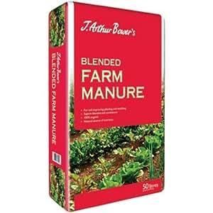 J.Arthur Bowers Blended Farm Manure - 50 Litre