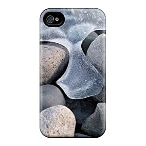 4/4s Scratch-proof Protection Case Cover For Iphone/ Hot Defrosting Phone Case