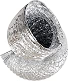 ACTIVE AIR ACDC1225P Premium Ducting, 12'' x 25', Silver