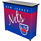 NBA New Jersey Nets Portable Bar with Case, One