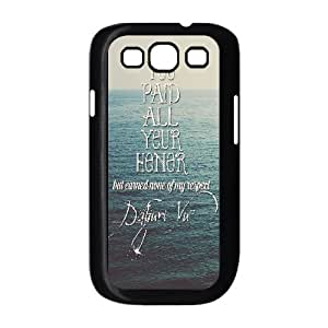 Print Your Own Pictures AXL371777 Best Cover Case For Samsung Galaxy S3 I9300 Cover Case w/ Positive Energy Slogans