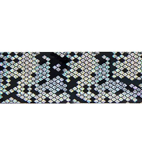 (zsjhtc 1 Box of Nail Sticker Snake Skin Pattern Design Manicure Tips Decal DIY Decor)