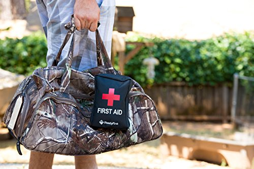 Ready First Aid Kit Your Complete Personal Survival Kit With A Tactical Molle Strap On Back A Compact 95 Piece Individual First Aid Kit For Traveling Hiking Camping Hunting Fishing Sports