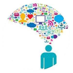 alfombrilla de ratón la comunicación estratégica en la red social - ronda - 20cm