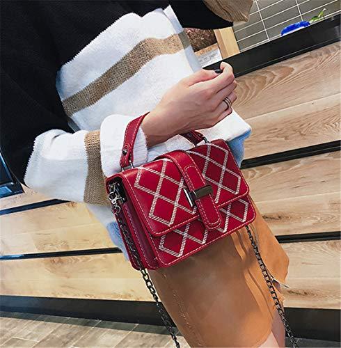 Dames Cuir Loisirs Multi Pu Vintage Durable Imperméable L'épaule Sacoche Bags Rouge Mode Porté D'épaule Skitor À Fille Travel Bandoulière Shoulder usage Sac Léger Petit Besace YvqUTn